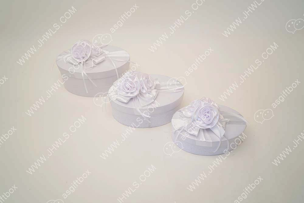 Ribbon Handmade Flower Gift Box