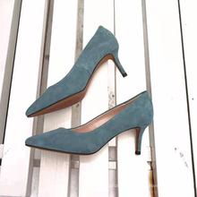 china factory luxury best selling kid suede 2020 new arrivals ladies high heels formal dress pump womens leather  custom shoes
