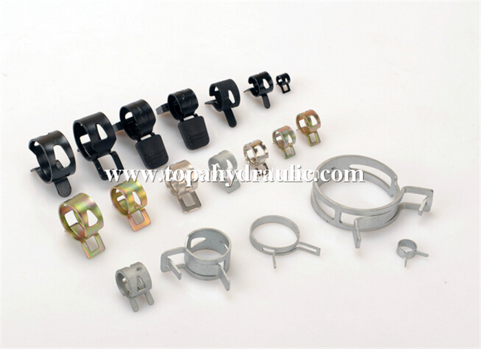 Stainless hose spring hose clamps hose clamp sizes