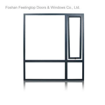 Алюминий умные окна с двойным остеклением (в ft-W70)