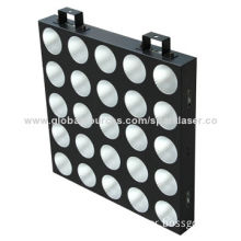 LED Matrix Light with Adjustable Sound Sensitivity, 25 Pieces/9W RGB 3-in-pieceNew