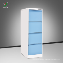China Made steel vertical 4 drawer file cabinets chest