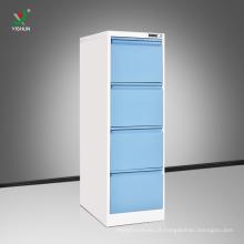 China fez caixa de armários de arquivo gaveta vertical de aço 4