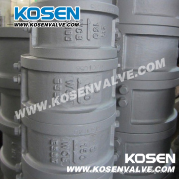 Cast Steel Dual Plate Check Valve