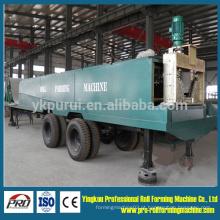 1220-800 Máquina de formação de rolo de construção de telhado de grande largura de telhado