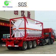 22m3 Volume R125 Filling Medium Container Semi Trailer
