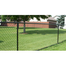 Clôture temporaire avec clôture en acier de haute qualité / haute sécurité / joint en chaîne en PVC cadré