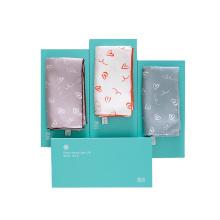 Lenço de seda quadrado de grife feminino personalizado