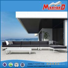 Селекционная Алюминиевый Комплект Софы Салона Патио Металлическая Мебель