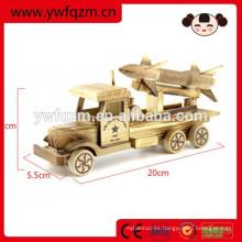 juguete de alta calidad del coche de Rocket de madera