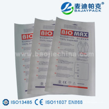 Sterilization Paper Pouch for medical glove packing
