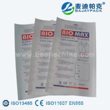 Стерилизация бумажный мешок для упаковки медицинских перчаток