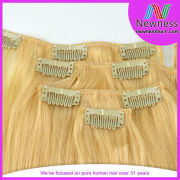 China Factory Wholesale Afro Hair Clip In Extensions