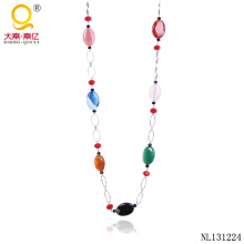 Fashionable Agate Necklace Design Chain Necklace