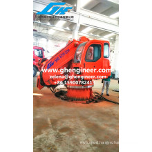 5t11m Telescopic Knuckle Ship Deck Marine Crane