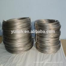 supply straight pure titanium wire in Gr1 Gr2