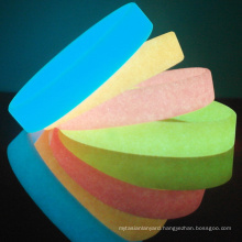Noctilucent silicon wristband, Luminous silicone bracelets, customized silicone wristbands glow in the dark