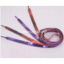 Custom Polyester Shoe Lace / Fashion Shoelace