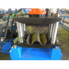 rolling steel guardrail roll forming machine