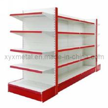 Pegboard Metal Display Shelf Équipement d'étagères Gondola Supermarket Rack