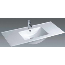 Thin Edge Vanity Ceramic Bathroom Basin (1200E)