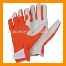 suave piel de cabra guantes de jardineria