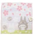 100% algodón jacquard cerezo en flor Totoro cara toalla suave