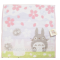 100% Cotton Jacquard Cherry blossoms Totoro Face Towel Soft