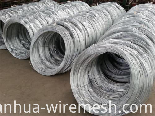 2.7mm Low Carbon Steel Wire Galfan Wire (1)