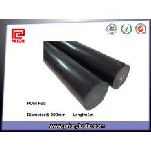 Matériau antistatique noir Polyacétal POM Rod