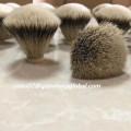 Top Grade Fan Shape Silvertip Badger Hair Knot
