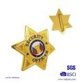Emblema do emblema em forma de estrela feita sob encomenda do xerife (xd-09016)