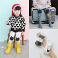 Фантазии конструкции маленькая девочка танец хлопок колготках красочные детские хлопка Колготки