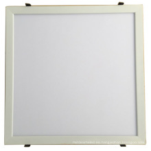 Luz de panel led 600x600 montada en superficie regulable