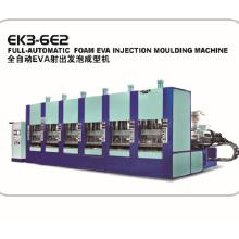 Máquina de moldeo por inyección de plástico EVA con aprobación CE ISO