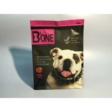 Full Matt Flat Bottom untuk Pet Food Bag