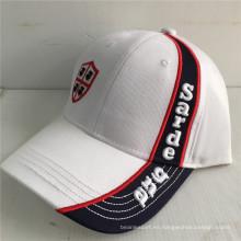 (LPM16010) Bordado construido promocional del béisbol gorras bordadas