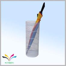 Werbeartikel Metall Mesh Wet Umbrella Halter für Regen Regenschirm
