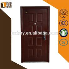 Puerta abatible de acero, puerta de seguridad, puertas de seguridad de hierro