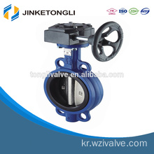 wafer connection 10 inch stainless steel butterfly valve JKTL BT054L