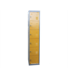 Tinted Single Six Door Metal Steel Locker