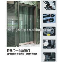 Special solution-glass door,Elevator