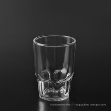 Gobelet en verre de whisky transparent de 265 ml