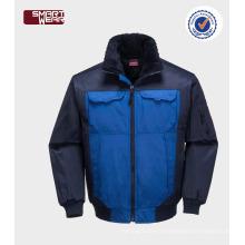 OEM Mens TC hiver bombardier workwear veste pilote