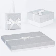boîte à bijoux cadeau de luxe en carton personnalisé pas cher chinois