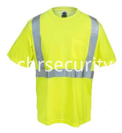 Men's Class 2 Economy Hi-Vis Lime Green T-Shirt