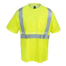 Men's Economy Hi-Vis Lime Green T-Shirt