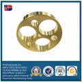 CNC Milling Brass Drilling Holes Auto Parts (WKC-369)