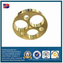 CNC Fräsen Messing Bohren Löcher Autoteile (WKC-369)