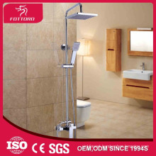rainfall shower set square head wall-mounted shower set